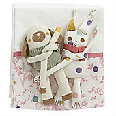 Baby Joule Cosy Curtains and Helpful Huggers (Madhatter)