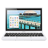 "Acer C720P 11.6"" Touchscreen Chromebook, Intel Celeron, 2GB Memory, 16GB Storage - White"
