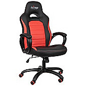 Nitro Concepts C80 Pure Series Gaming Chair Black / Red NC-C80P-BR-UK