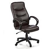 Maestro Atlas High-Back Executive Chair - Brown