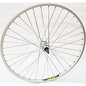 Momentum Weinmann/Quando 26 Wheel: Silver Front.