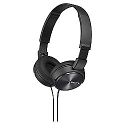 Sony MDR-ZX310 On-Ear Headphones - Black