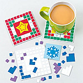 Christmas Mosaic Coaster Kits (6 Pcs)