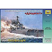 Zvezda - Battleship dreadnought - Scale 1/350 9039