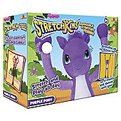 Stretchkins Purple Pony