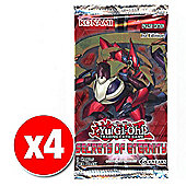 Yu-Gi-Oh! Secrets of Eternity Booster (4 packs supplied)