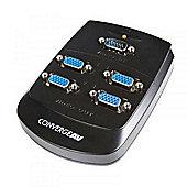 StarTech Converge A/V 4 Port VGA Video Splitter Wall Mountable Video Splitter