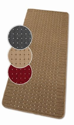 Dandy Stanford Beige / Brown Contemporary Rug - 50cm x 80cm