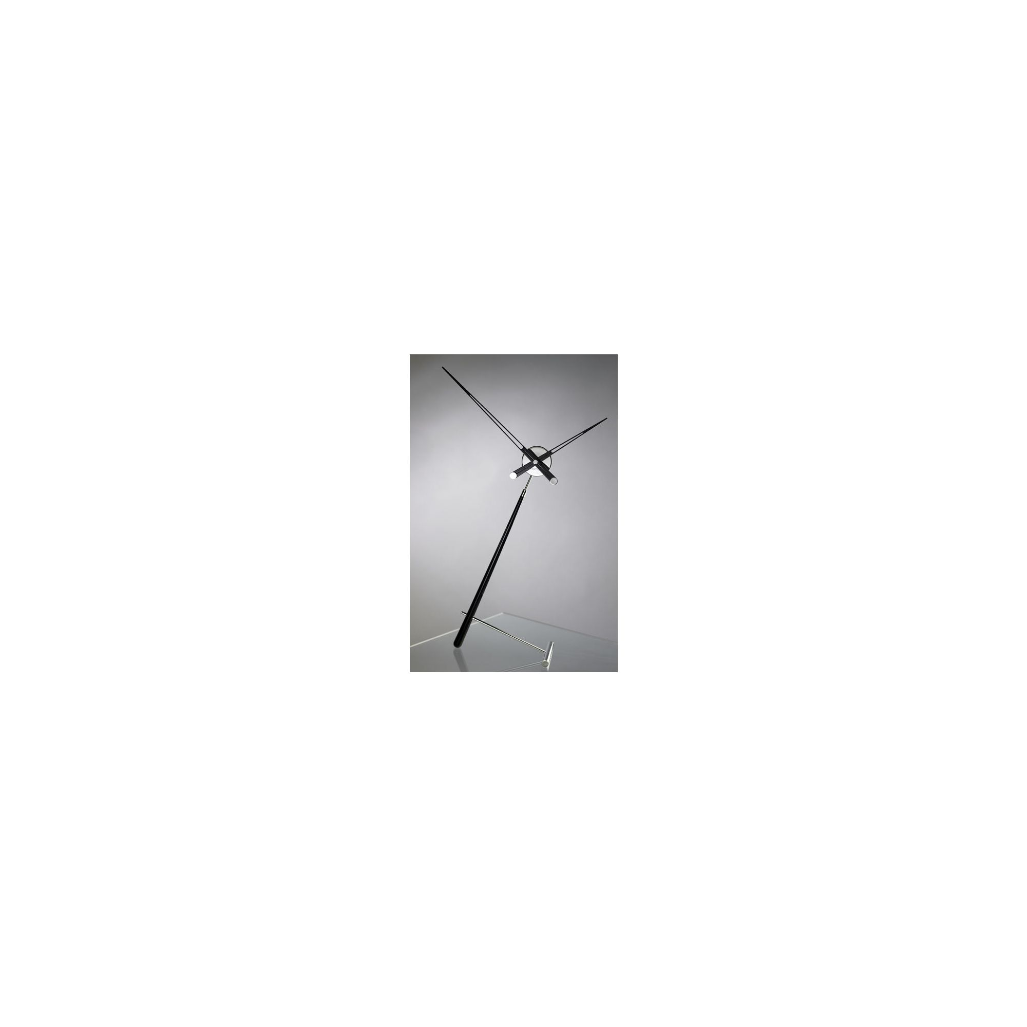 NOMON Puntero L Clock - Black Lacquered at Tesco Direct
