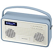View Quest Retro ColourGen DAB+/FM Radio with iPod Dock (Blue, 30 Pin)