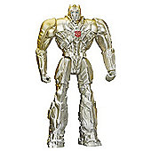 Transformers - Silver Knight Optimus Prime