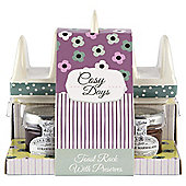Cosy Days Ceramic Toast Rack & Preserves Set