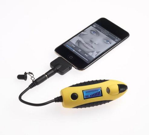 PowerTraveller Powermonkey eXplorer Solar Power Charger Device - Yellow