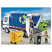 Playmobil 4129  Recycling Truck with Flashing Light