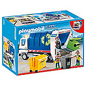 Playmobil 429 Recycling truck with flashing light