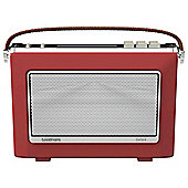 Goodmans Oxford DAB+ & FM Bluetooth Radio Red