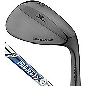 John Letters Mens Tour Black Wedge (Rifle Project X Shaft) Loft 56 Deg. (10 Deg. Bounce)