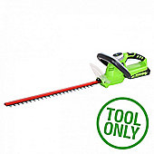 Greenworks 24v Hedge Trimmer (Tool Only)