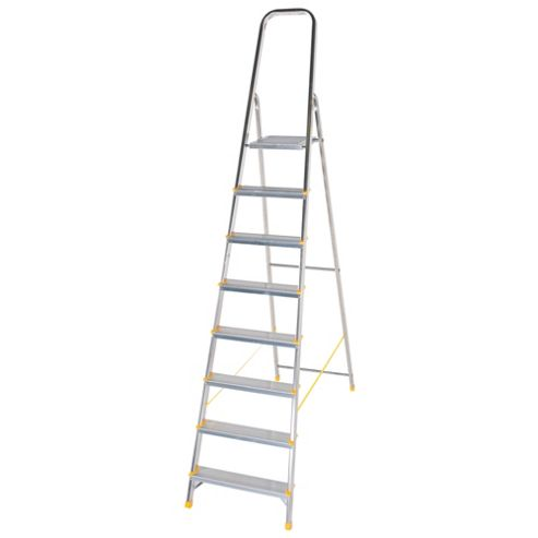 DIY 8 Tread Platform Step Ladder