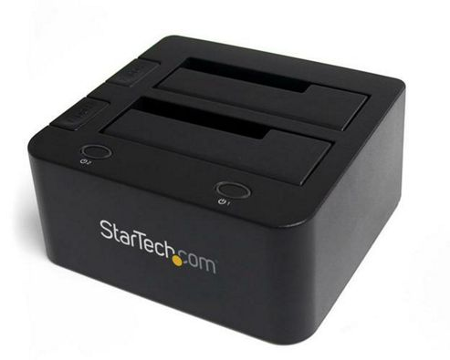 StarTech SuperSpeed USB 3.0 to Dual 2.5/3.5in SATA Hard Drive Docking Station