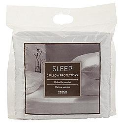 Tesco 100% cotton pillow protector 2pk