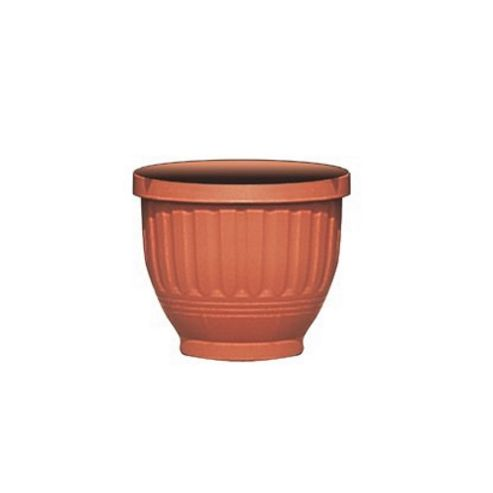 B.Line H180 Etruscan Planter Terracotta 30.5Cm