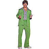 70s Green Suit