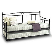 Black Day Bed & Trundle - 3ft