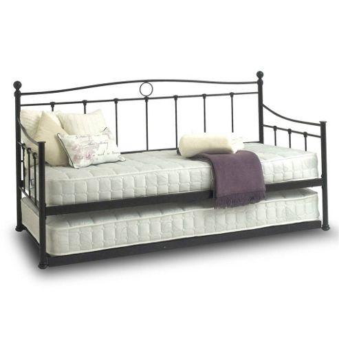 buy black day bed trundle 3ft from our day beds range. Black Bedroom Furniture Sets. Home Design Ideas