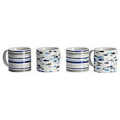 Rick Stein Mugs, Set of Four