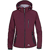 Trespass Ladies Bela Softshell Jacket - Red