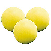 Longridge Yellow Foam Practice Balls (CDU)