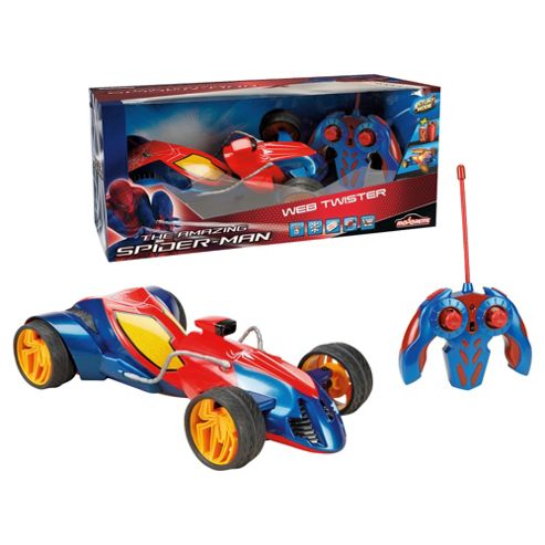 Spiderman 1:12 Web Twister Stunt Car
