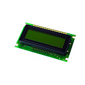 Supertwist Alphanumeric 1X8 Green LCD Display Module