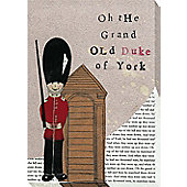 Nursery Rhymes Canvas - The Grand Old Duke