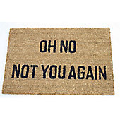Dandy Oh No Not You Again Doormat - 60cm x 40cm