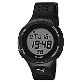 Puma Gents Faas 200 Digital Black Resin Sport Strap Watch PU910931003