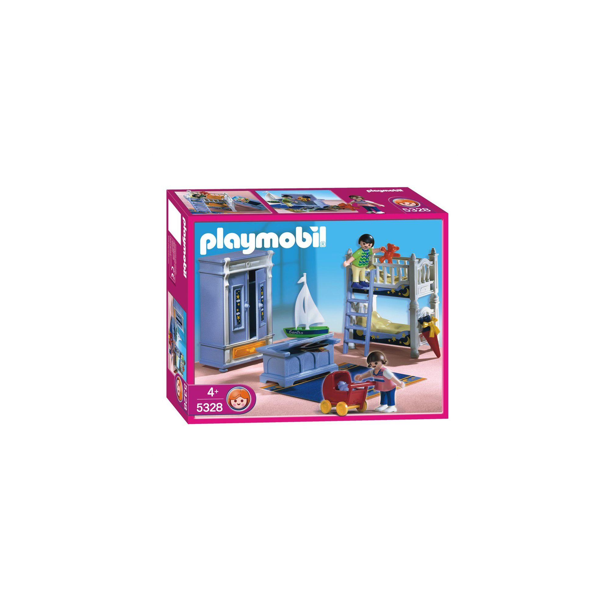 Buy cheap playmobil dollhouse at playmobil toys compare for Playmobil kinderzimmer 4287