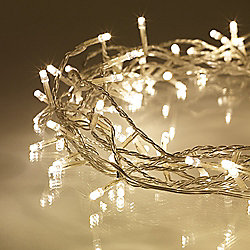 200 Warm White LED Indoor Fairy Lights