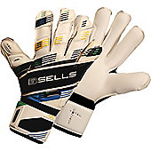 Sells Total Contact Elite Competition Goalkeeper Gloves - White