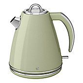 Swan SK24030GN 1.5 Litre, Jug Kettle, with 3000W, and 360 Degree Base, in Green