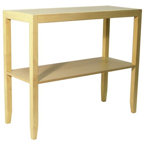 Techstyle Solid Wood Console Table - Natural