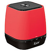 Iluv ISP145RED  Bluetooth Mini Speaker Red