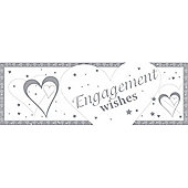 Loving Hearts Engagement Giant Banner (each)