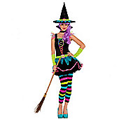 Neon Witch - Teen Costumes 11-12 years