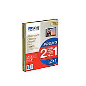 Bundle - Epson (A4) Premium Glossy Photo Paper (2 x 15 Sheet Pack)