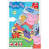 Peppa Pig Jumbolino 6 Puzzle Cards - Jumbo