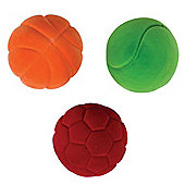 Rubbabu Small Balls (Pack of 3)