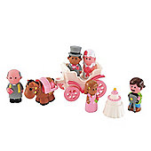 Early Learning Centre HappyLand Wedding Set