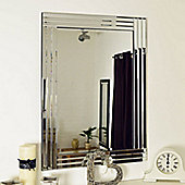 Large Venetian Bevelled Wall Mirror 3Ft3x2ft3 100Cm X 70Cm